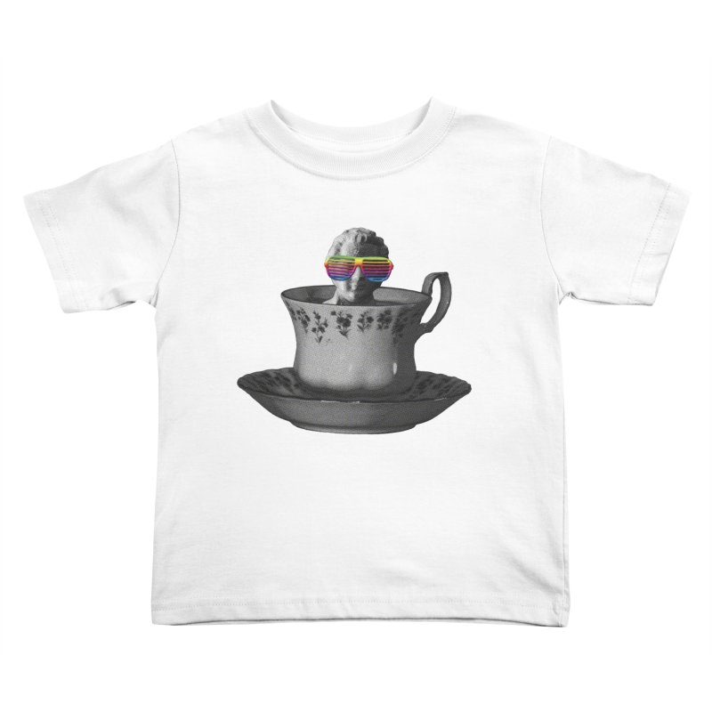 A Cup of Genius Kids Toddler T-Shirt by The Artist Shop of Ben Stevens