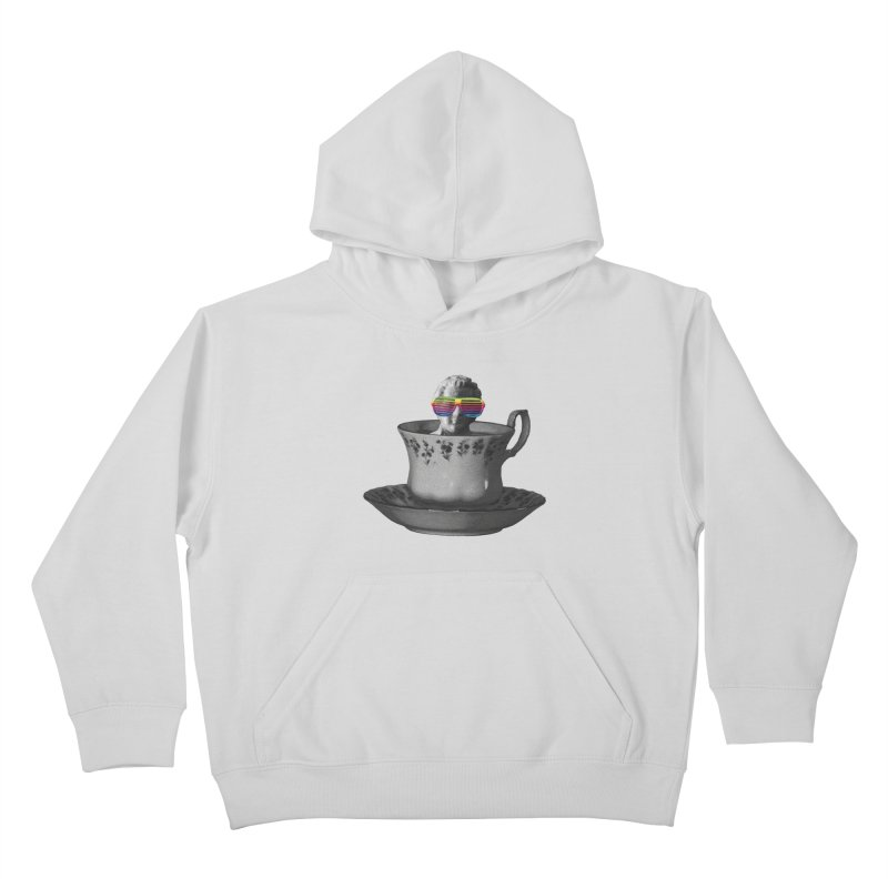 A Cup of Genius Kids Pullover Hoody by The Artist Shop of Ben Stevens