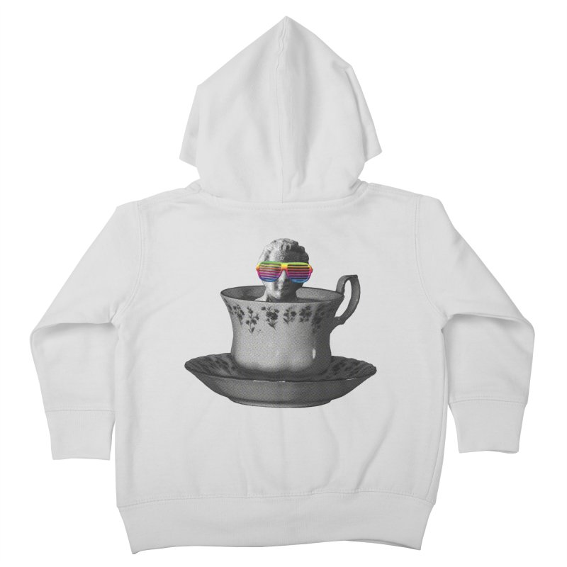 A Cup of Genius Kids Toddler Zip-Up Hoody by The Artist Shop of Ben Stevens