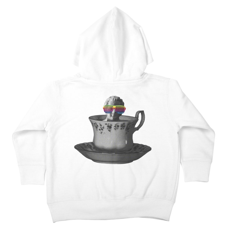 A Cup of Genius Kids Toddler Zip-Up Hoody by The Artist Shop of Ben Stevens