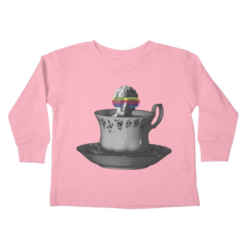 A Cup of Genius Kids Toddler Longsleeve T-Shirt by The Artist Shop of Ben Stevens