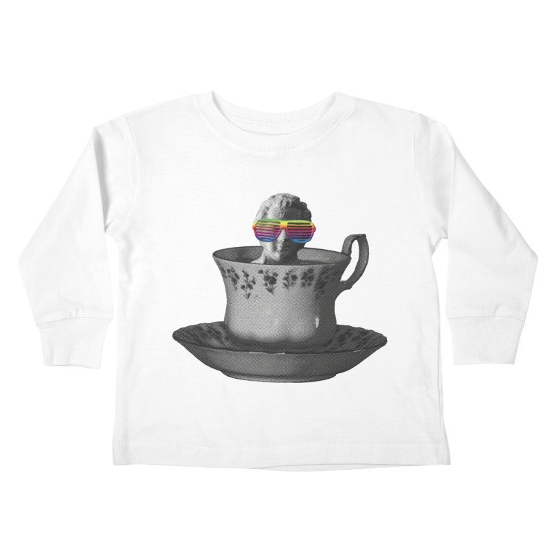 A Cup of Genius Kids Toddler Longsleeve T-Shirt by The Artist Shop of Ben Stevens