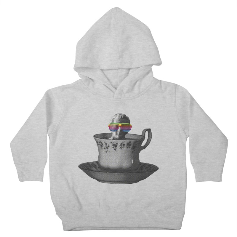 A Cup of Genius Kids Toddler Pullover Hoody by The Artist Shop of Ben Stevens