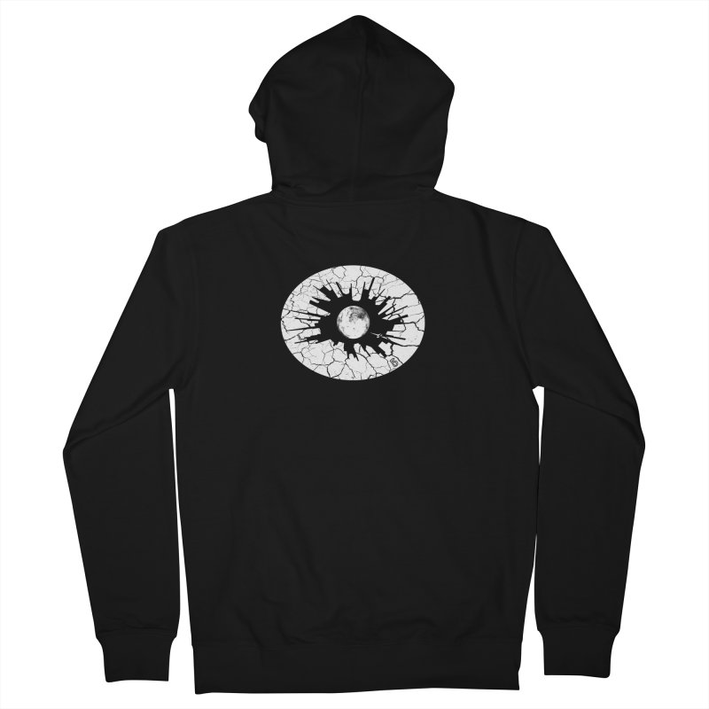 Eye on the City Women's French Terry Zip-Up Hoody by The Artist Shop of Ben Stevens