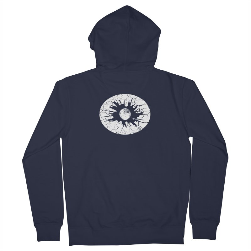 Eye on the City Men's Zip-Up Hoody by The Artist Shop of Ben Stevens