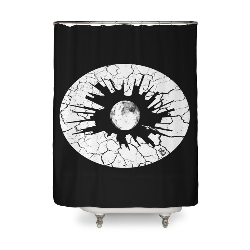 Eye on the City Home Shower Curtain by The Artist Shop of Ben Stevens