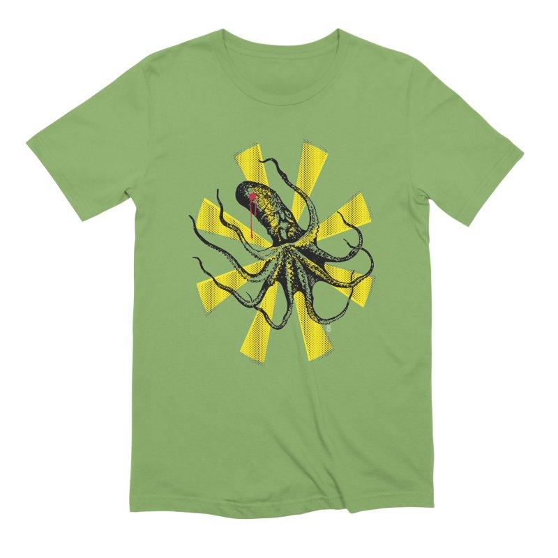 Kraken Up Men's Extra Soft T-Shirt by The Artist Shop of Ben Stevens