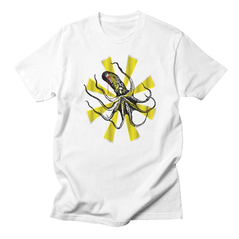 Kraken Up Men's T-Shirt by The Artist Shop of Ben Stevens