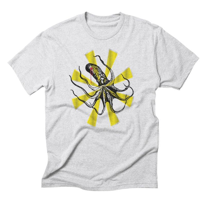 Kraken Up Men's Triblend T-shirt by The Artist Shop of Ben Stevens
