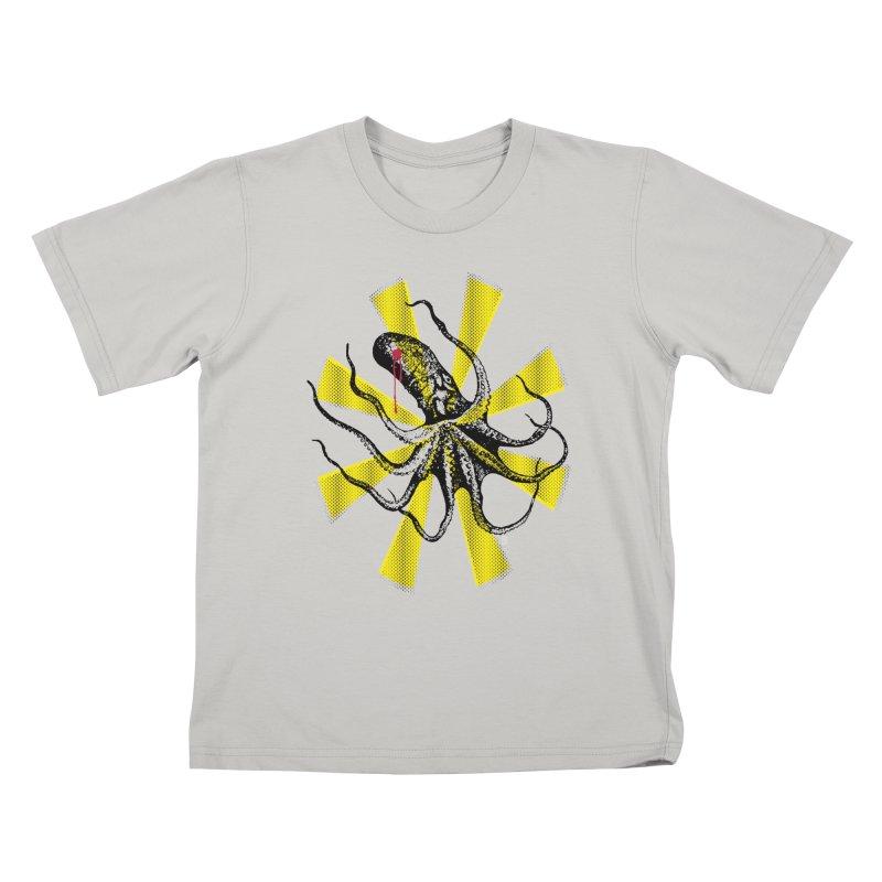Kraken Up Kids T-Shirt by The Artist Shop of Ben Stevens