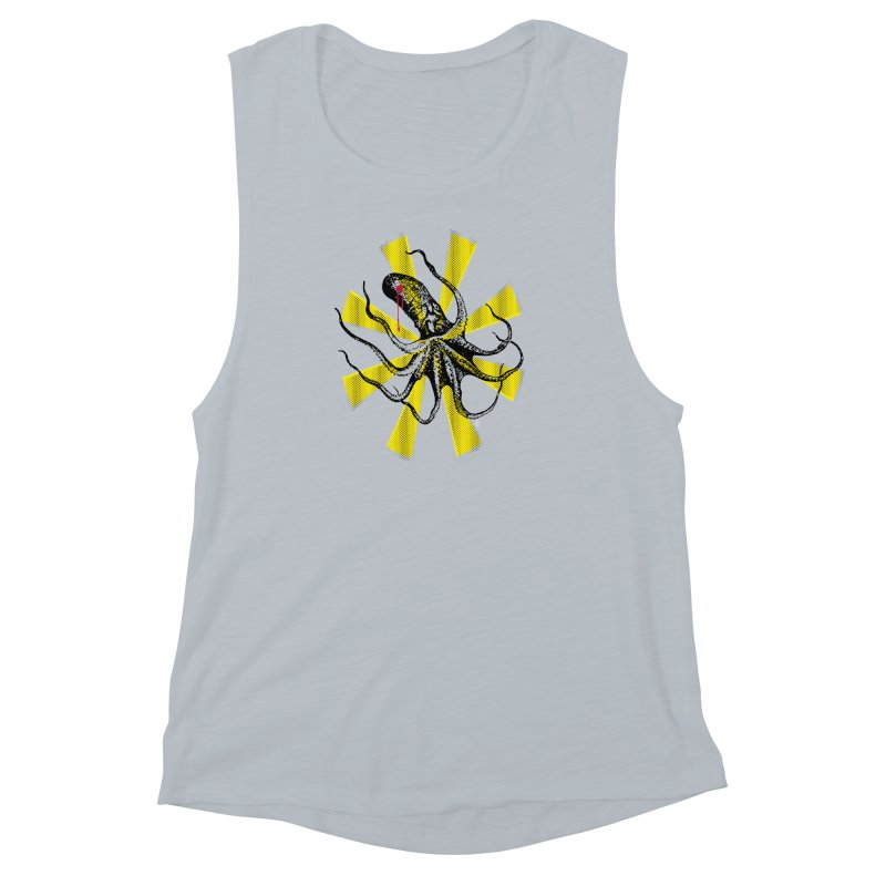 Kraken Up Women's Muscle Tank by The Artist Shop of Ben Stevens