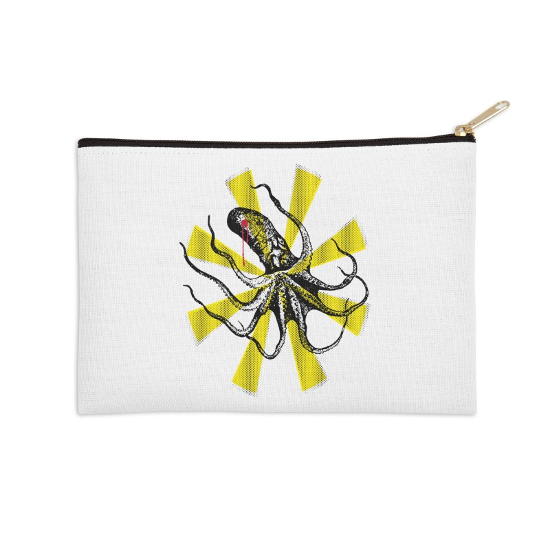 Kraken Up Accessories Zip Pouch by The Artist Shop of Ben Stevens