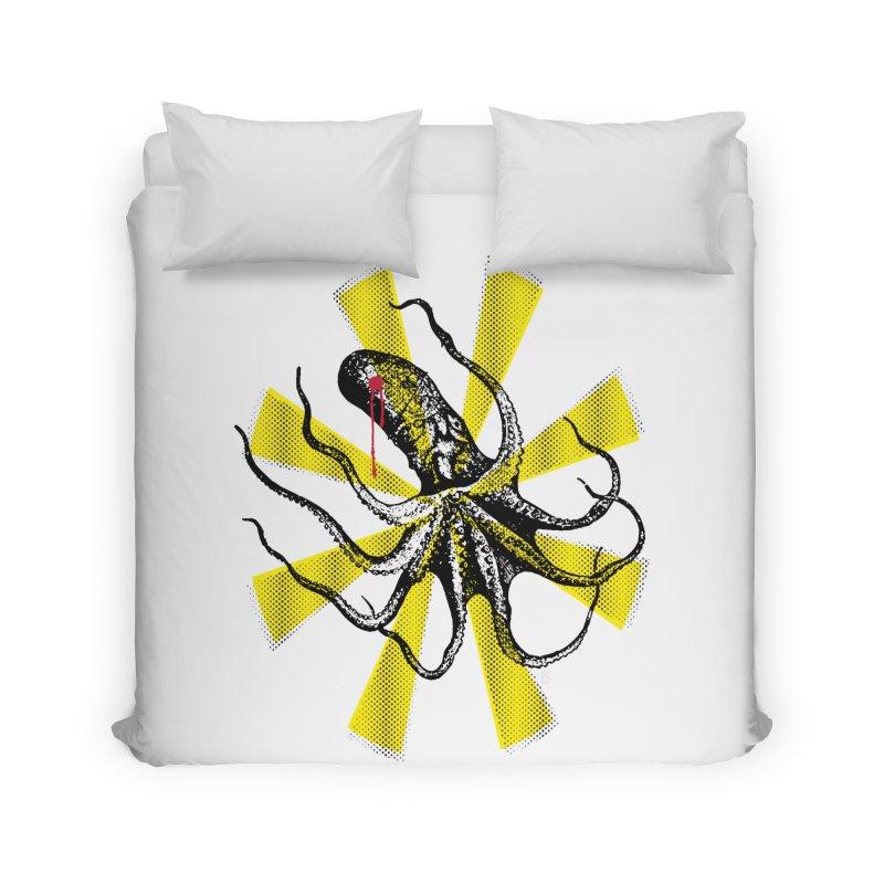 Kraken Up Home Duvet by The Artist Shop of Ben Stevens