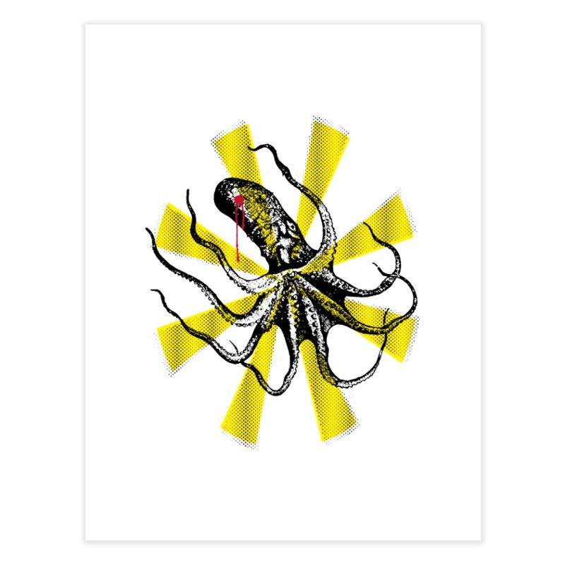 Kraken Up Home Fine Art Print by The Artist Shop of Ben Stevens