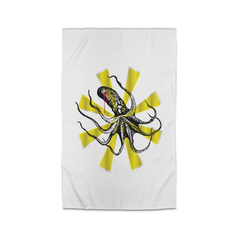 Kraken Up Home Rug by The Artist Shop of Ben Stevens
