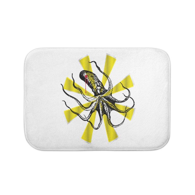 Kraken Up Home Bath Mat by The Artist Shop of Ben Stevens