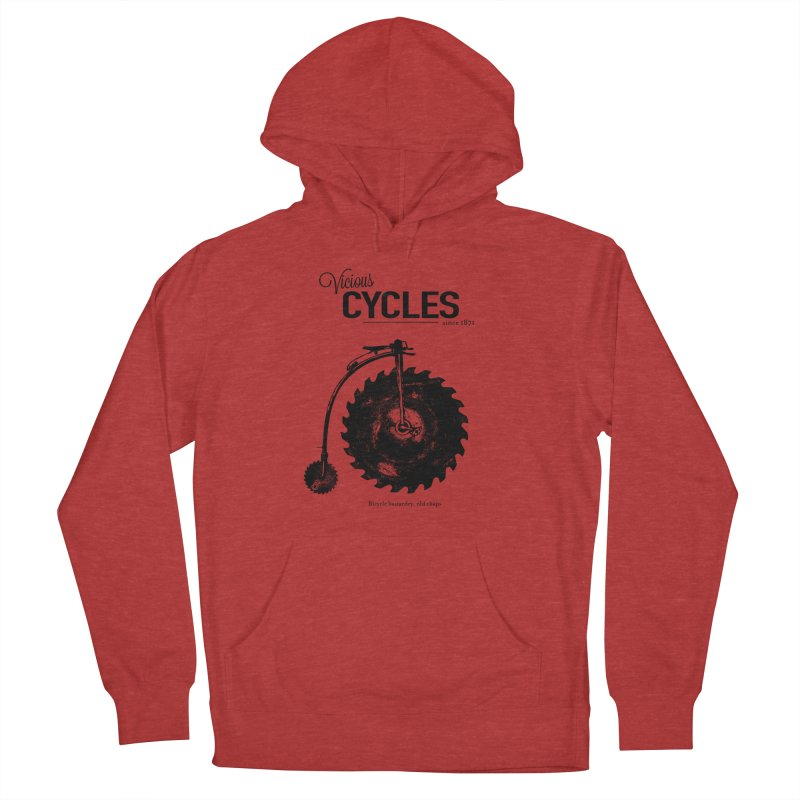Vicious Cycles Women's Pullover Hoody by The Artist Shop of Ben Stevens