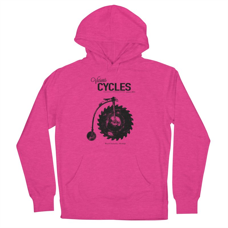 Vicious Cycles Men's Pullover Hoody by The Artist Shop of Ben Stevens