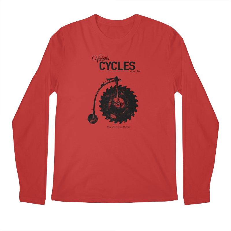 Vicious Cycles Men's Longsleeve T-Shirt by The Artist Shop of Ben Stevens