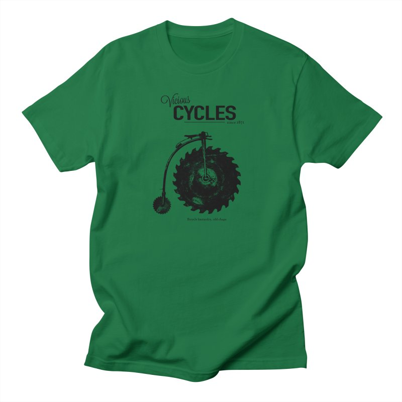 Vicious Cycles Women's Unisex T-Shirt by The Artist Shop of Ben Stevens