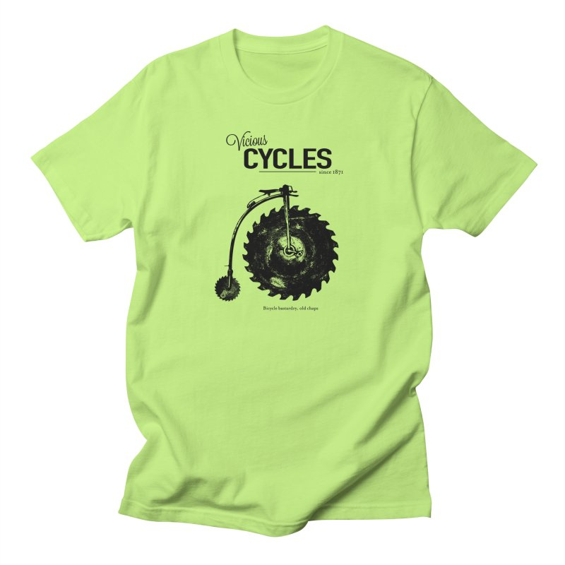 Vicious Cycles Men's T-shirt by The Artist Shop of Ben Stevens