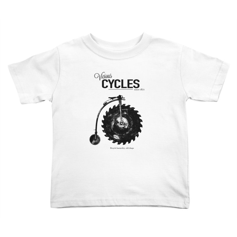 Vicious Cycles Kids Toddler T-Shirt by The Artist Shop of Ben Stevens