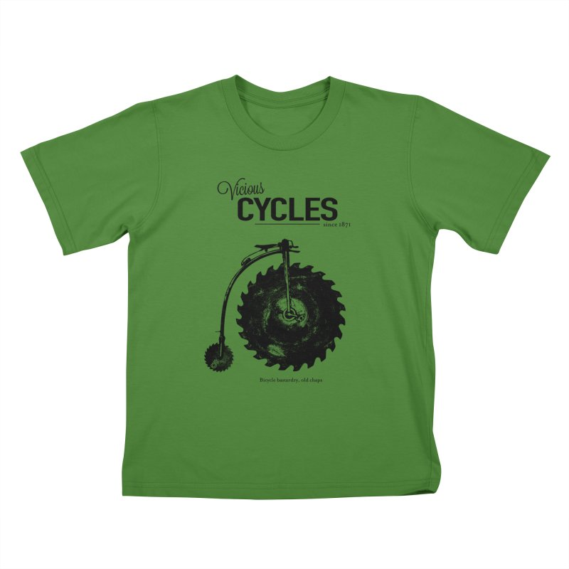 Vicious Cycles Kids T-Shirt by The Artist Shop of Ben Stevens
