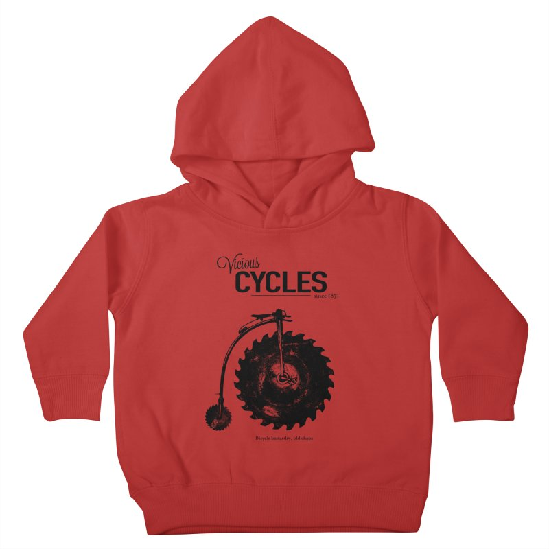 Vicious Cycles Kids Toddler Pullover Hoody by The Artist Shop of Ben Stevens
