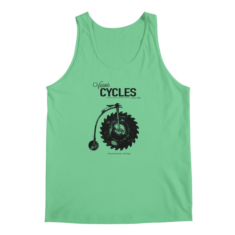 Vicious Cycles Men's Tank by The Artist Shop of Ben Stevens