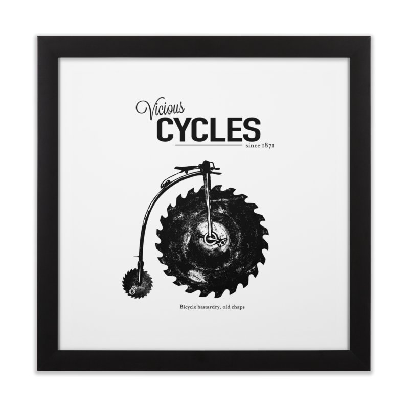 Vicious Cycles Home Framed Fine Art Print by The Artist Shop of Ben Stevens