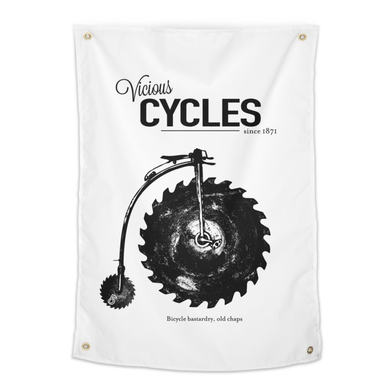 Vicious Cycles Home Tapestry by The Artist Shop of Ben Stevens