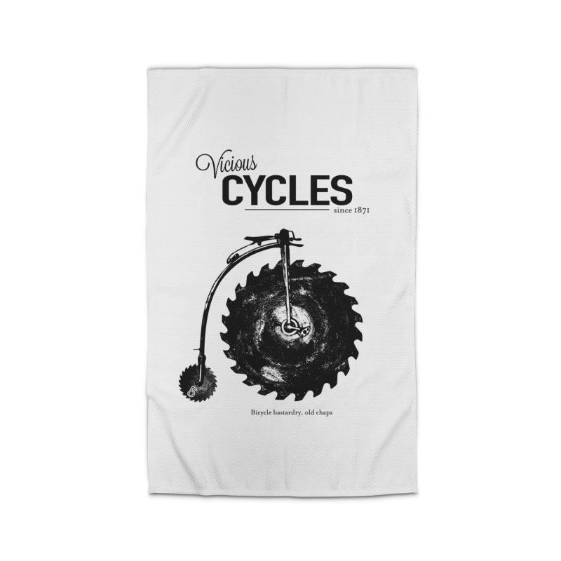 Vicious Cycles Home Rug by The Artist Shop of Ben Stevens