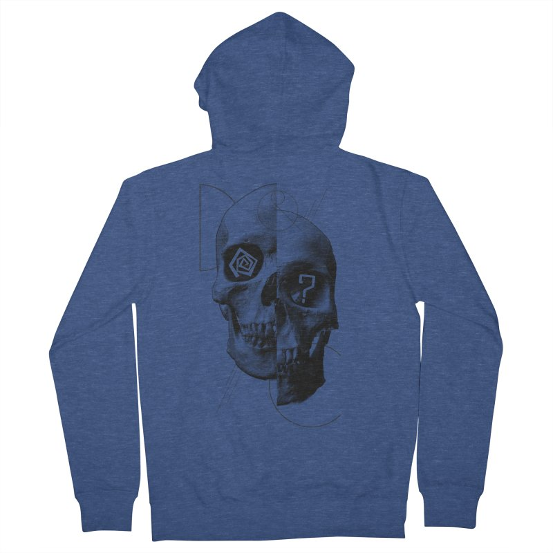 Dazed & Confused Men's French Terry Zip-Up Hoody by The Artist Shop of Ben Stevens