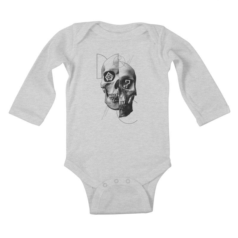 Dazed & Confused Kids Baby Longsleeve Bodysuit by The Artist Shop of Ben Stevens
