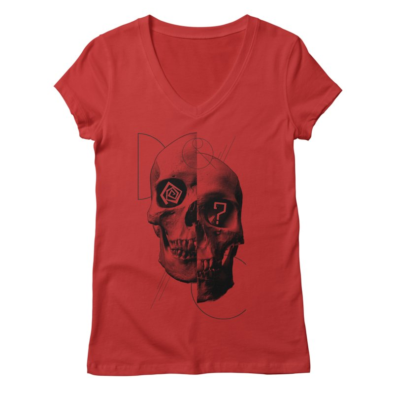 Dazed & Confused Women's V-Neck by The Artist Shop of Ben Stevens