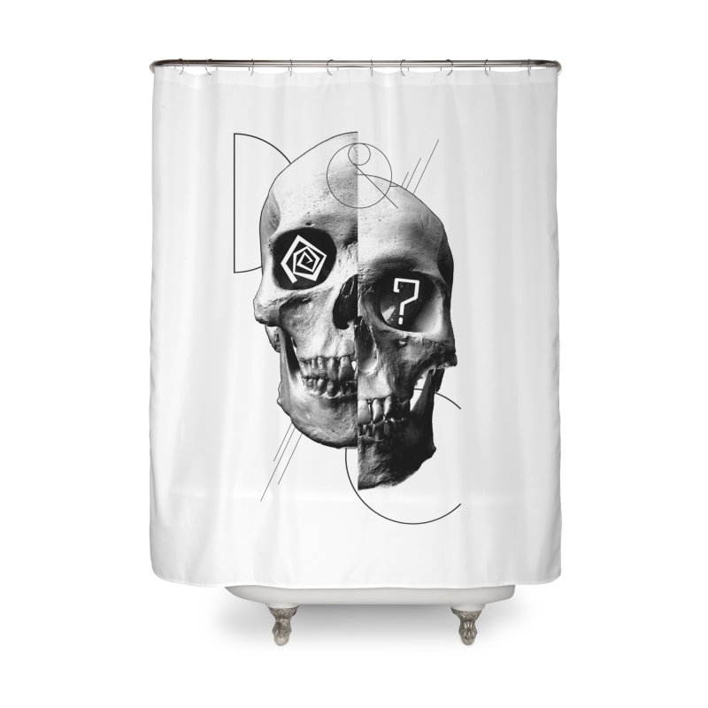 Dazed & Confused Home Shower Curtain by The Artist Shop of Ben Stevens