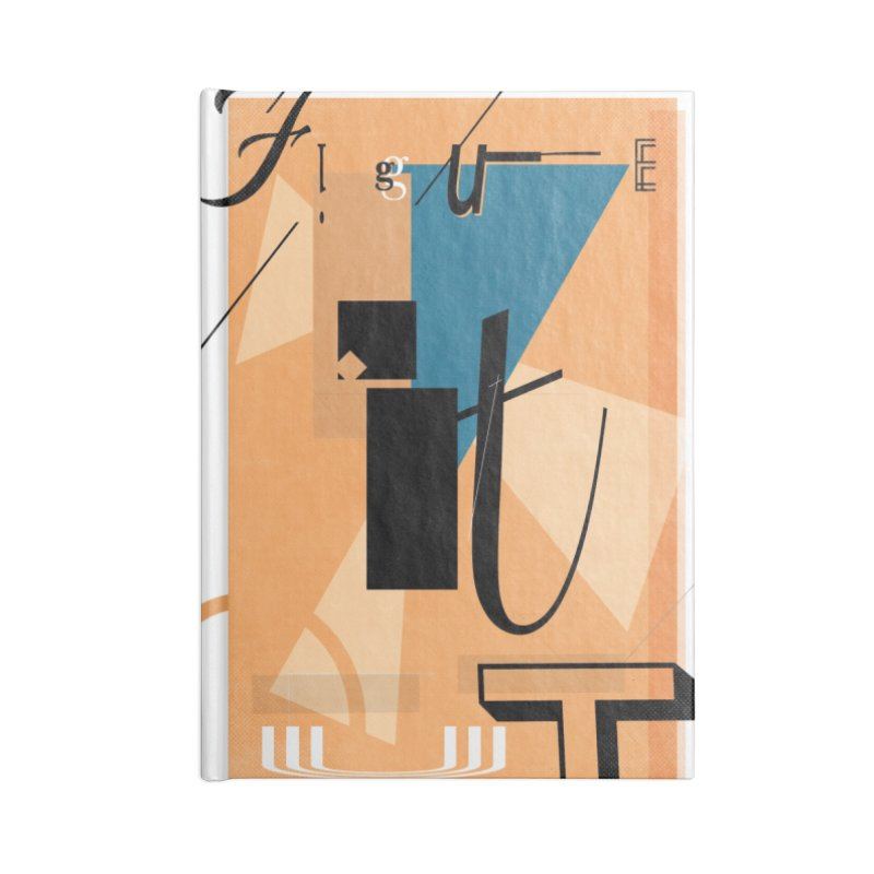 Figure it out Accessories Notebook by The Artist Shop of Ben Stevens
