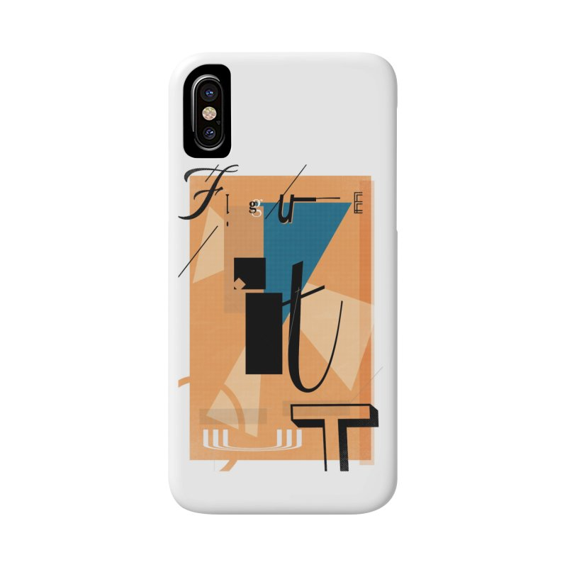 Figure it out Accessories Phone Case by The Artist Shop of Ben Stevens