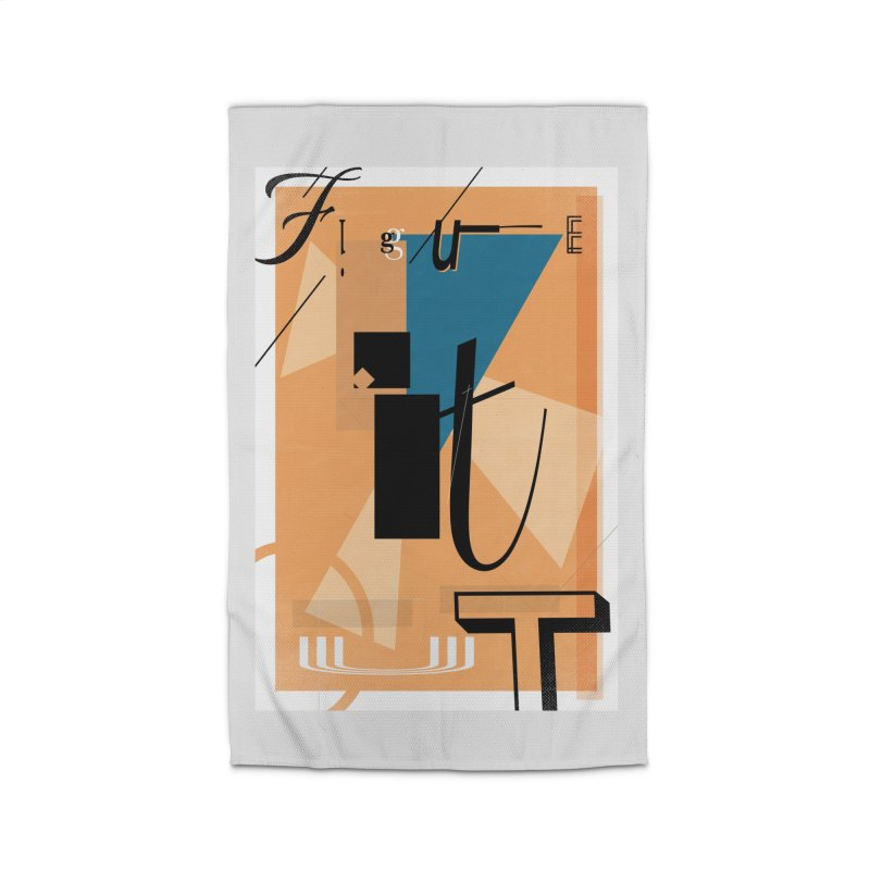 Figure it out Home Rug by The Artist Shop of Ben Stevens