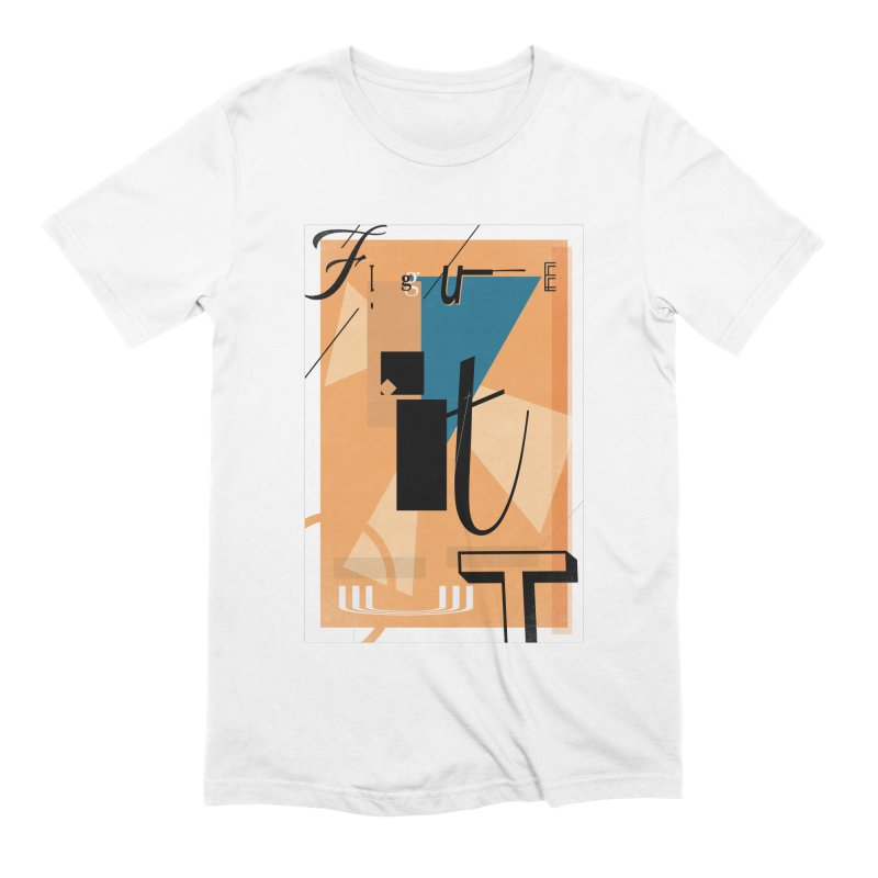 Figure it out Men's Extra Soft T-Shirt by The Artist Shop of Ben Stevens