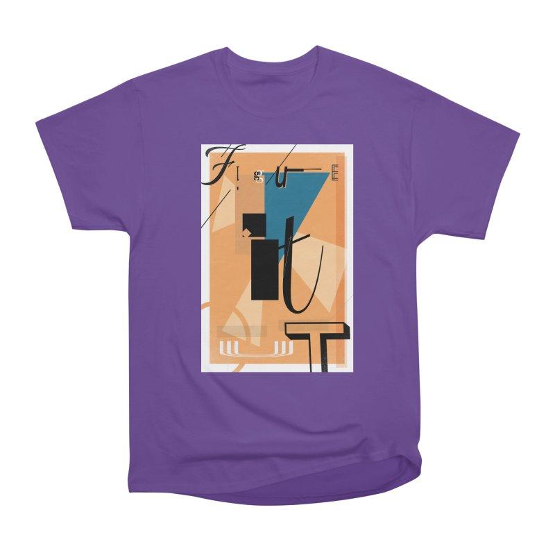 Figure it out Men's Heavyweight T-Shirt by The Artist Shop of Ben Stevens