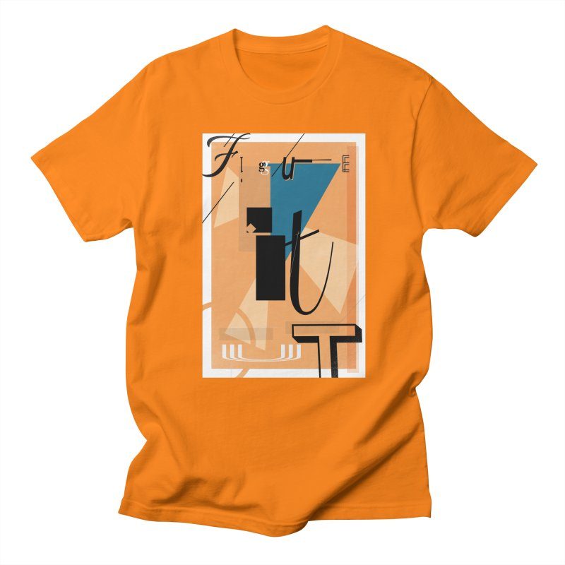 Figure it out Men's T-Shirt by The Artist Shop of Ben Stevens