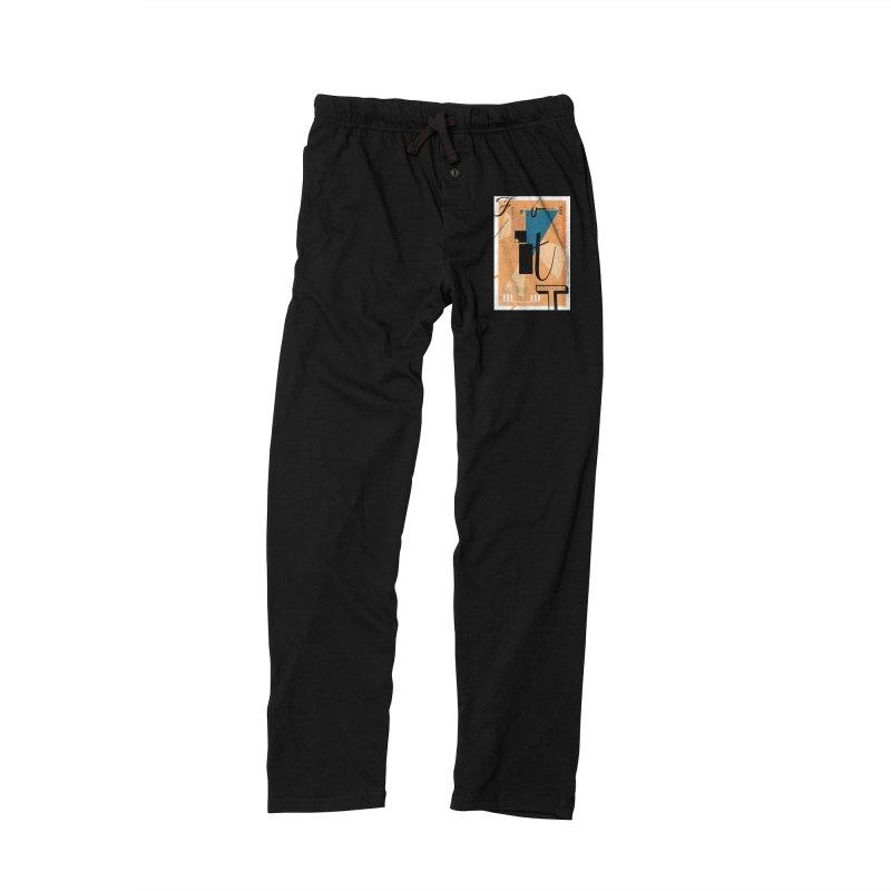 Figure it out Men's Lounge Pants by The Artist Shop of Ben Stevens