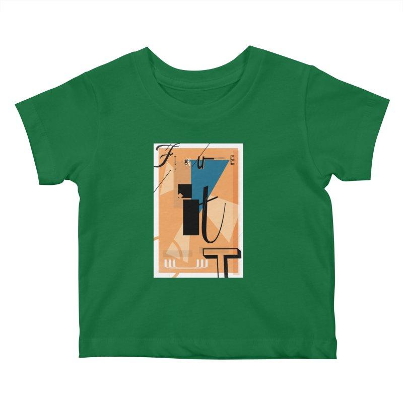 Figure it out Kids Baby T-Shirt by The Artist Shop of Ben Stevens