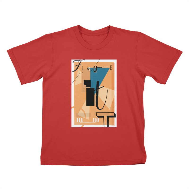 Figure it out Kids T-Shirt by The Artist Shop of Ben Stevens