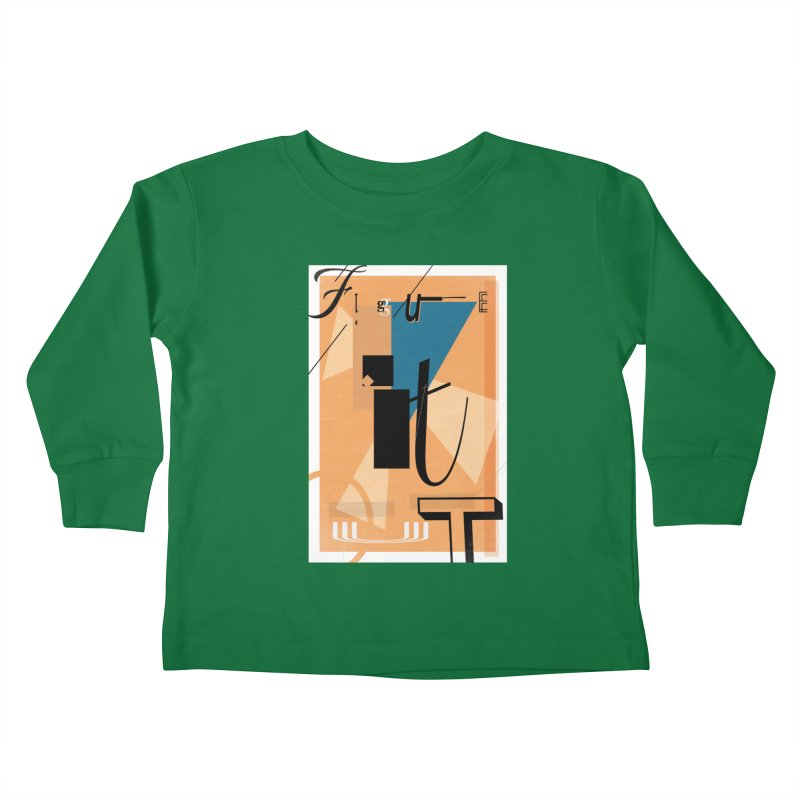 Figure it out Kids Toddler Longsleeve T-Shirt by The Artist Shop of Ben Stevens