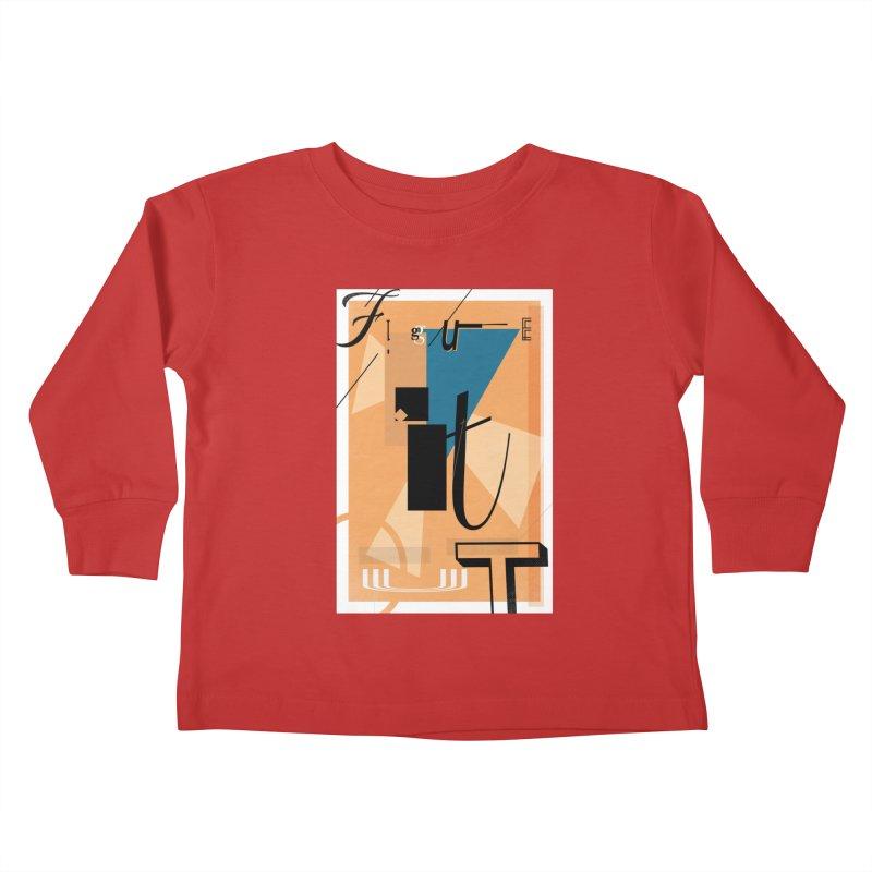 Figure it out Kids Toddler Longsleeve T-Shirt by The Artist Shop of Ben Stevens