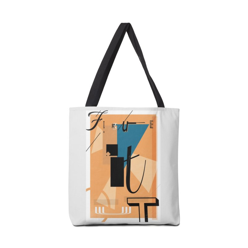 Figure it out Accessories Bag by The Artist Shop of Ben Stevens