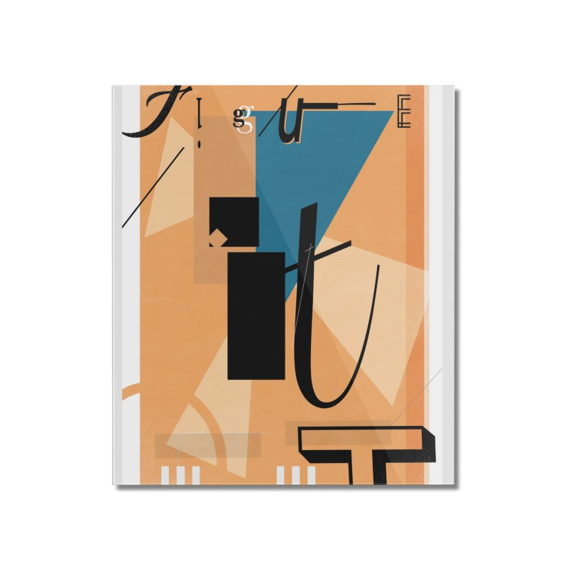 Figure it out Home Mounted Acrylic Print by The Artist Shop of Ben Stevens