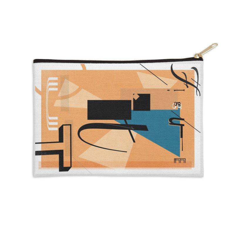 Figure it out Accessories Zip Pouch by The Artist Shop of Ben Stevens